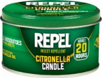 Fred Meyer Repel Insect Repellent Citronella Candle Tin 10 Ounce