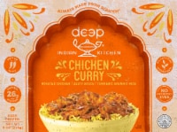 Deep Indian Kitchen Chicken Curry with Basmati Rice Frozen Meal
