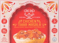 Deep Indian Kitchen Chicken Tikka Masala with Basmati Rice Frozen Meal