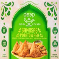 Tandoor Chef Samosa with Mint Chutney Frozen Meal - 11 oz
