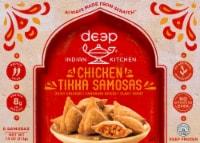 Deep Indian Kitchen Tandoori Chicken Samosa Frozen Meal