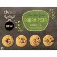 Deep Badam Pista Biscuits 400 Gm (14 Oz) - 1 unit