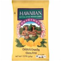Hawaiian Original Crispy & Crunchy Gluten Free Kettle Style Potato Chips - 7.5 oz