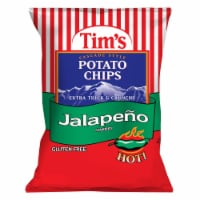 Tim's Extra Thick & Crunchy Jalapeno Cascade Style Potato Chips - 7.5 oz