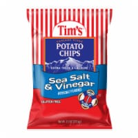 Tim's Sea Salt & Vinegar Potato Chips - 7.5 oz