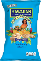 Hawaiian Sweet & Tangy Ginger Flavored Crispy & Crunchy Kettle Style Potato Chips