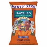 Hawaiian Luau BBQ Sweet & Spicy Chips Party Size - 16 oz