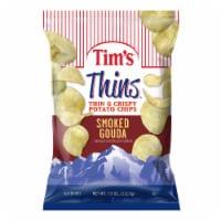 Tim's Thins Smoked Gouda Thin & Crispy Potato Chips - 7.5 oz