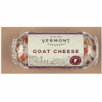 Vermont Creamery Smoky Pepper Jelly Goat Cheese Log