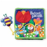 Manhattan Toy Soft Activity Book with Tethered Toy Buzzing Through - 1 Each