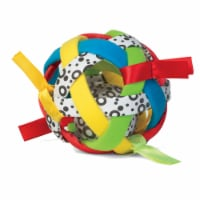 Manhattan Toy Bababall Sensory Sphere and Rattle - 1 Each