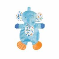 Manhattan Toy Teether Elephant Snuggle Blankie Toy