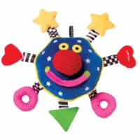Manhattan Toy Whoozit Rattle and Squeaker Sound Developmental Baby Toy - 1 Each