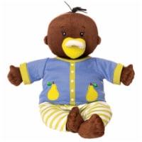 """Manhattan Toy Baby Stella Brown Doll 15"""" Soft First Baby Doll"""
