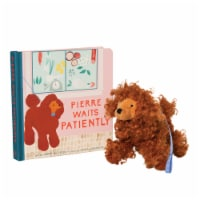 Manhattan Toy Pierre Waits Patiently Baby & Toddler Board Book +  Stuffed Animal Dog Gift Set - 1 Each