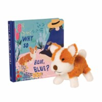 Manhattan Toy Why So Blue? Baby & Toddler Board Book Corgi Stuffed Animal Dog Gift Set - 1 Each