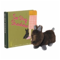 Manhattan Toy So Shy Shadow Baby and Toddler Board Book + Scottie Stuffed Animal Dog Gift Set - 1 Each