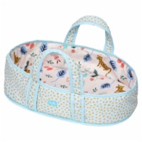 """Manhattan Toy Stella Soft Fabric Baby Doll Bassinet and Carrier for 12"""" to 15"""" Baby Dolls - 1 Each"""