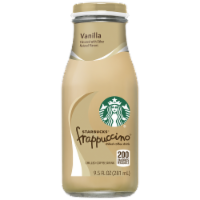 Starbucks Frappuccino Vanilla Iced Coffee Drink - 9.5 fl oz