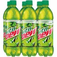 Mountain Dew Soda 6 Pack Bottles