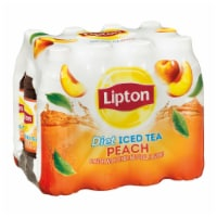 Lipton Diet Peach Iced Tea 12 Count Bottles