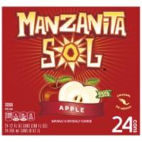 Manzanita Sol Apple Soda - 24 cans / 12 fl oz