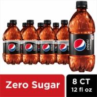Pepsi Max Zero Sugar Soda - 8 bottles / 12 fl oz