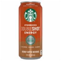 Starbucks Doubleshot Energy Drink Hazelnut Iced Coffee