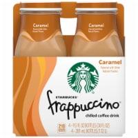 Starbucks Frappuccino Caramel Iced Coffee Drink - 4 bottles / 9.5 fl oz