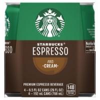 Starbucks Doubleshot Espresso & Cream Premium Espresso Beverage