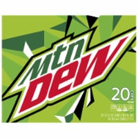 Mountain Dew Soda 20 Pack