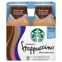 Starbucks Frappuccino Mocha Light Iced Coffee Drink 4 Pack Bottles