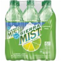 Sierra Mist Lemon Lime Caffeine Free Soda 6 Pack Bottles - 6 bottles / 16.9 fl oz