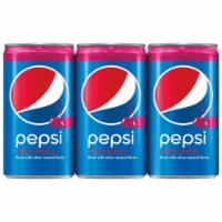 Pepsi Wild Cherry Mini Cans