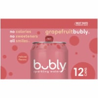 bubly Grapefruit Sparkling Water - 12 cans / 12 fl oz