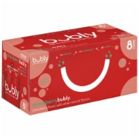 bubly Sparkling Water Strawberry 8 Pack