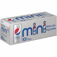 Diet Pepsi Cola Soda Mini Cans