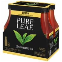 Pure Leaf Sweetened with Lemon Brewed Iced Tea 6 Count Bottles