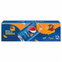 Pepsi Cola Splash of Mango Soda 12 Pack