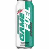 Mountain Dew Game Fuel Zero Calorie Watermelon Energy Drink 16 oz Can