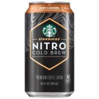 Starbucks Nitro Cold Brew Dark Caramel Premium Iced Coffee Drink - 9.6 fl oz