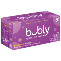 bubly™ Passionfruit Sparkling Water - 8 cans / 12 fl oz