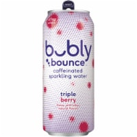 bubly bounce Triple Berry Caffeinated Sparkling Water