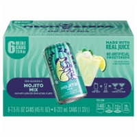Neon Zebra Mojito Mix Lime Mint Flavor