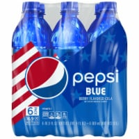 Pepsi Blue Cola - Berry