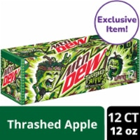 Mountain Dew® Thrashed Apple Soda - Exclusive Item! - 12 cans / 12 fl oz