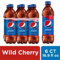Pepsi Cola Wild Cherry Soda