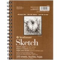 Strathmore - Sketch Paper Pad - 400 Series - 5  x 8 - 100/Shts. - 1