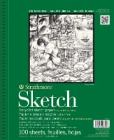 Strathmore 400 Series Sketch Paper - 100 Sheets - White