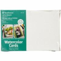 Strathmore Cards & Envelopes 5 X6.875  50/Pkg-Watercolor - 1